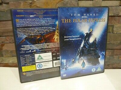 classic THE POLAR EXPRESS DVD (TOM HANKS) FAST/FREE POST IDEAL FAMILY CHRISTMAS)