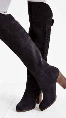 DV BY DOLCE Vita 'Myer' Over the Knee Suede Boot Charcoal