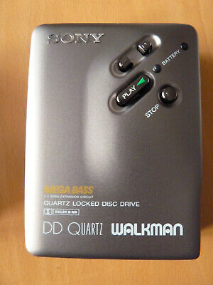 Sony Walkman DD Quartz WM-DD33 grau DD 33