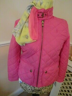 Fabulous Genuine Ralph Lauren Polo Girls Pink Quilted Jacket XL  Age 16  BNWT