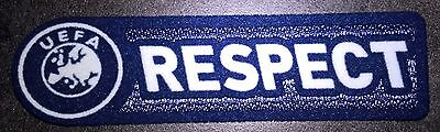 Europe Patch Badge RESPECT maillot foot Ligue des Champions, Euro 09/10 a 11/12