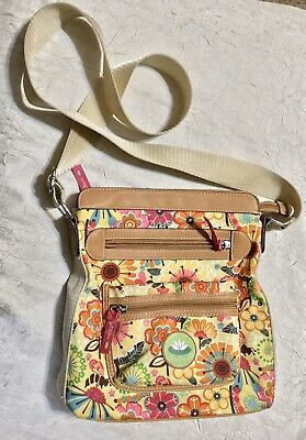 Lily Bloom Blossom Blowout Tablet Crossbody with 1 Zippered Pocket And 1 Flap Pt