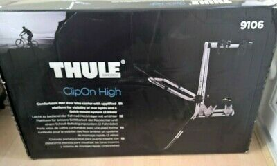 Thule 9106 ClipOn High Rear Mount Cycle Carrier - 2 Bikes