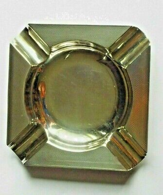 Sterling Silver Hallmarked Ashtray London 1937