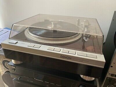 Denon Dp-47F Fully Automatic Turntable With Ortofon Omb 5 Mm New Cartridge