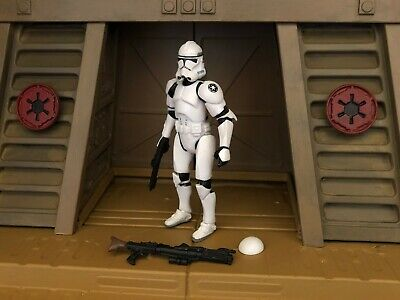 Loose Star Wars Revenge Of The Sith Quick Draw Attack Clone Trooper