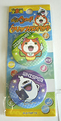 Button Set zum Anime Game Yo-Kai Watch yokai youkai jibanyan whisper neu pin