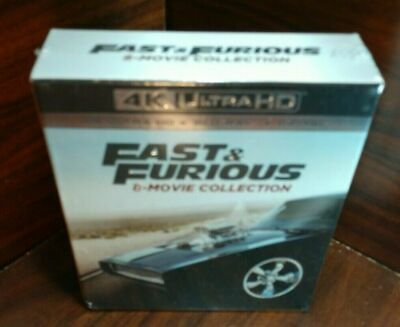 Fast & Furious 8-Movie Collection (4K+Blu-ray-NO DIGITAL,17-Disc) Free Shipping