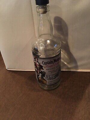 captain morgan sherry oak finish open empty bottle limited edition