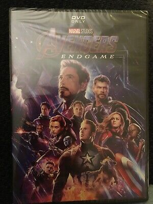 Avengers: End Game (DVD, 2019) New & Sealed Free Shipping!