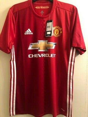 Manchester United 16-17 Season Player Issued Jersey Size 7 Nwt
