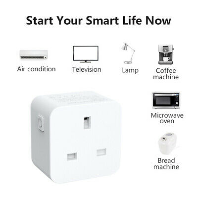 WiFi Smart Plug Works with Alexa Google Home IFTTT WiFi Energy Monitoring Timer