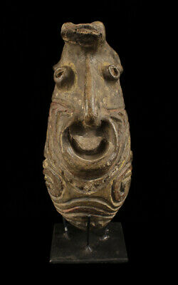 kwoma clay figure, ceramic, oceanic tribal art, papua new guinea