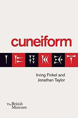 Cuneiform by Jonathan Taylor, Irving Finkel, NEW Book, FREE & FAST Delivery, (Pa