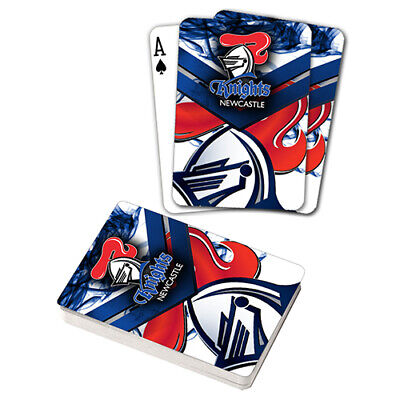 Nrl Newcastle Knights Playing Cards Gift Boxed , Black Jack , Poker