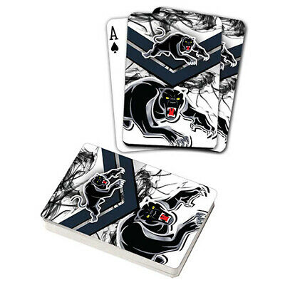 Nrl Penrith Panthers Playing Cards Gift Boxed , Black Jack , Poker