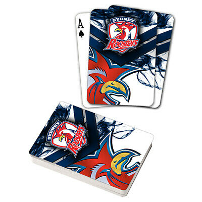 Nrl Sydney Roosters Playing Cards Gift Boxed , Black Jack , Poker