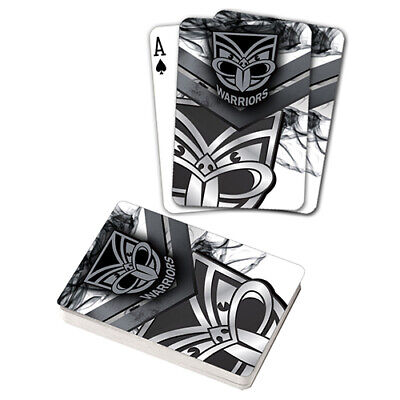 Nrl New Zealand Warriors Playing Cards Gift Boxed , Black Jack , Poker