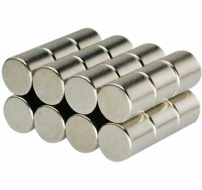 N35 Neodymium Magnets ~ 2mm Diameter x 2mm Thick ~ HIGH QUALITY, Small CYLINDERS