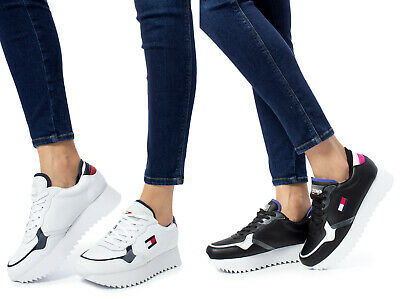SNEAKERS DONNA TOMMY HILFIGER high cleated tommy jeans