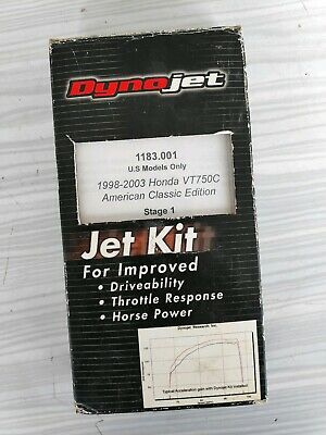 Kit Dynojet HONDA SHADOW VT750C 1998 à 2003