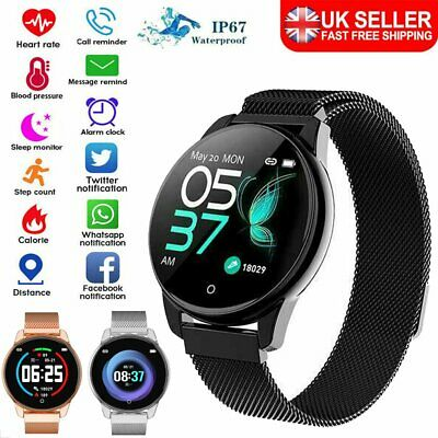Bluetooth Smart Sport Watch Step Calorie Counter Fitness Tracker Pedometer Gift