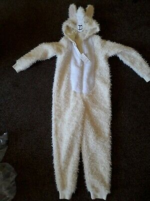 Llama onepiece / bodysuit / all in one aged 9 - 10 M&S New