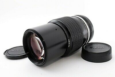 """EXC+4"" Nikon Nikkor 200mm f/4 Non-Ai MF Telephoto Lens TESTED From Japan518856"