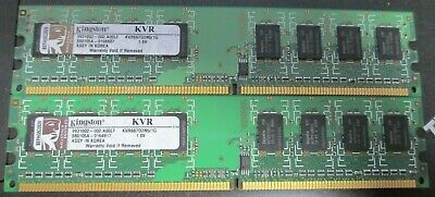 2GB Kit 2x1GB DDR2-533  Memory RAM for Sony VAIO VGN VGN-N220E//W