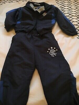 Kids Rangers fc tracksuit and shirt