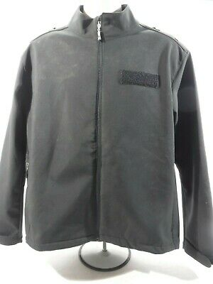 Ex Police Soft Shell Unisex Jacket Workplace Outdoor Security Camping Event