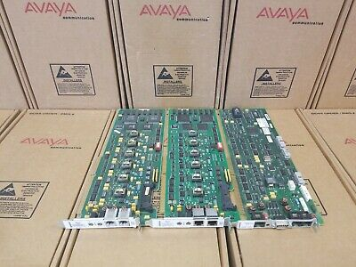 Mixed Lot Avaya Lucent Ayc54B Remote Maint. Board (2) Ayc10 Voice Processor Card