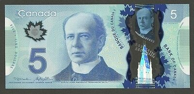 Bank of Canada HBT issue $5 New UNC 5 Dollars Polymer