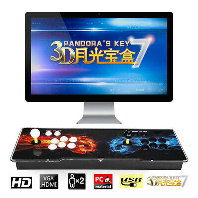 3D 2413in1 Pandora's Box Family Video Games 2 Players Retro Arcade Console PBAS