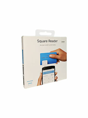 Square Credit Card Reader for iPhone, iPad & Android