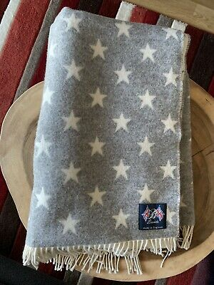 Bronte Grey/White Star Throw - 140x200cm