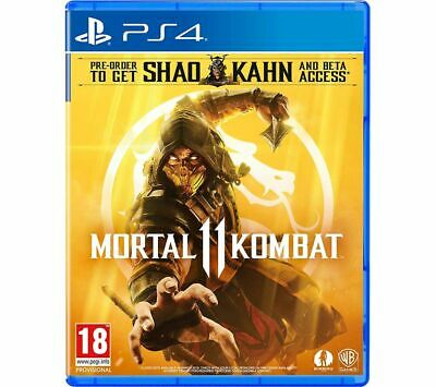 PS4 Mortal Kombat 11 - Currys