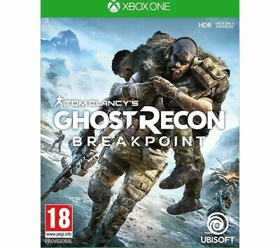 XBOX ONE Tom Clancy's Ghost Recon Breakpoint - Currys