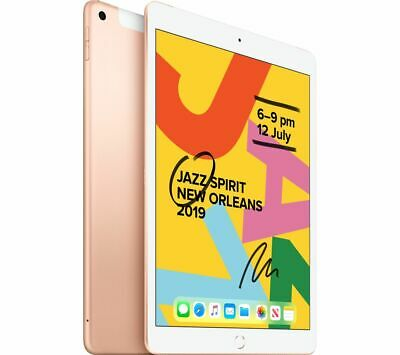 "APPLE 10.2"" iPad Cellular (2019) - 128 GB, Gold - Currys"