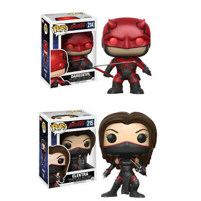 """4"""" Funko POP Daredevil ELEKTRA Action Figure PVC Figurine Collection Toys Gifts"""