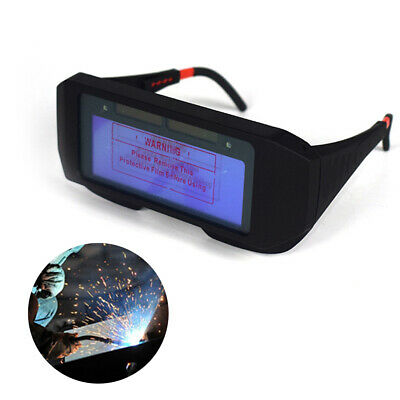 Auto Darkening LCD Welding Glasses Solar Goggles Mask Helmet Arc Eye Protection