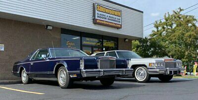 1979 Lincoln Mark Series -- 1979 Lincoln Mark V  Midnight Blue Moondust Metallic Coupe 400CI V8 Automatic