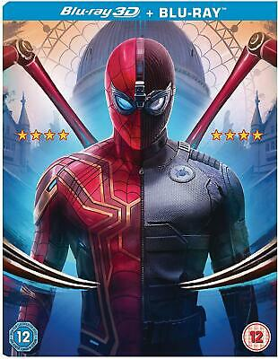 SPIDER-MAN FAR FROM HOME 3D BLU-RAY (sealed)
