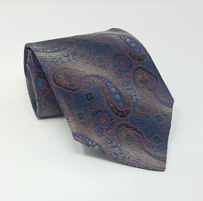 Cravatta gianni versace 100% pura seta tie silk original made in italy vintage