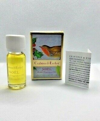 Crabtree & Evelyn Noël Home Fragrance Oil Mega Rare As Discontinued