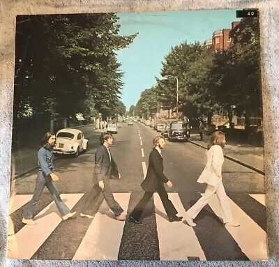 THE BEATLES - ABBEY ROAD - 1ST Press  1969 UK - APPLE - VINYL LP - PCS 7088