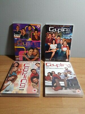 Coupling Complete Series 1-2-3-4  (The Complete Series) full set bundle job lot.