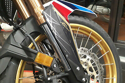 Stickers Kit 3D Guards Front Fender Compatible Honda Africa Twin 1100