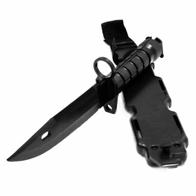 Army Military Training Model Survival Knife Plastic Dagger Rambo Movie Prop