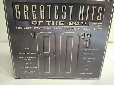 The Greatest Hits Of The 80s The Definitive Singles Collection 1980-1989 / 2 CDs